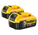 DeWalt DCB184 Duo de Baterías de Litio-ion de 18 V - 5.0Ah
