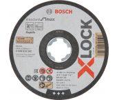 Bosch 2608619262 X-Lock Disco trozador Standard for Inox - Recto - 125mm