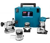 Makita RT0700CX3J Fresadora en Mbox - 710W