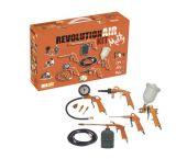 Nuair 8221595 Juego de accesorios de 9 piezas para compresores