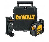DeWalt DW088CG Láser de líneas cruzadas en maletín - de 2 líneas - 15m - Verde - DW088CG-XJ