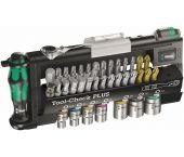 Wera 5056490001 Tool-Check PLUS Juego de accesorios de 38 piezas