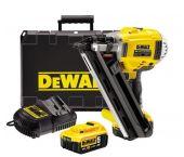 DeWalt DCN692P2 18V Li-Ion batería Clavadora set (2 x baterías de 5.0 amperios)  en maletín - 50-90mm - sin escobillas  - DCN692P2-QW