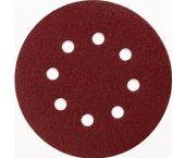 Makita P-43583 Disco de lija perforado con velcro - G180 - 125mm (10uds)