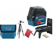 Bosch GCL 2-15 Láser combinadoen bolso y con trípode (BT 150) - 15m - 06159940FV