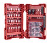 Milwaukee 4932471587 - Juego de puntas Shockwave - 70 piezas - PH/PZ/TX/Hex
