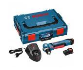 Bosch GWB 10,8-LI 10.8V Li-Ion taladro angular a batería set (2 baterías de 2.0Ah) en maletín L-Boxx - 0601390908