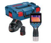 Batería de iones de litio Bosch GTC 400 C 12V Termómetro infrarrojo visual (batería 1x 1.5Ah) en L-Boxx - 0601083101