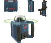 Bosch GRL 300 HVG + RC 1 + WM 4 Láser giratorio en maletín- 100m - verde - 0601061700