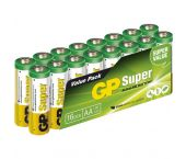 GP Superbaterías Alcalinas - AA - 1,5V (16 piezas) - 03015AS16