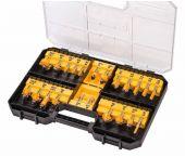 DeWalt DT90017 Juego de fresado de 22 piezas en estuche - DT90017-QZ