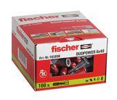 fischer DuoPower 8 x 40 (100 piezas)