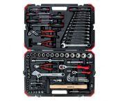 """Gedore RED R46003100 Juego de llaves de tubo / herramientas de 100 piezas - 1/4 """"+ 1/2"""" - 3300063"""
