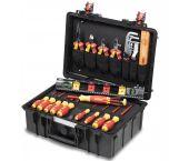 Wiha 44505 34- Piezas Electricistas Caja de herramientas Conjunto básico L - 930070401