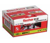 fischer DuoPower 6 x 30 (100 piezas)