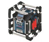 Bosch GML 50 PowerBox 360 Deluxe 14,4V-18V radio para obras con cargador - 0601429600