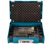 Makita B-52059 / B-53877 Juego de brocas / cinceles SDS-plus de 17 piezas en Mbox